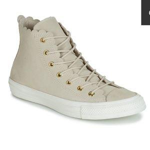 Converse Shoes   High Top Scallop
